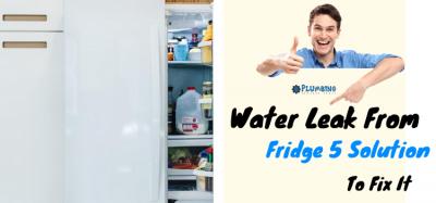 Water Leak From Fridge